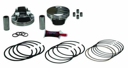 KB Pistons KB Piston Kit with Rings  - 65-8646