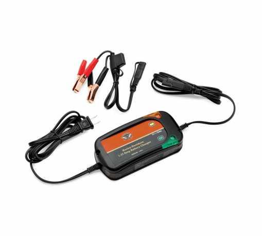 Harley-Davidson H-D Weather-Resistant Battery Tender 1.25A  - 66000033