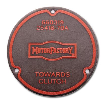 Motor Factory Motor Factory Dichtung Derby Cover 3-Loch, silikonbeschichtet  - 66-0319