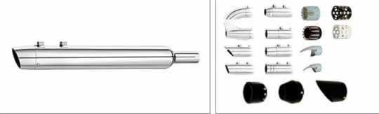 SuperTrapp SuperTrapp Kerker Replacement baffle for Pass-a-Truck mufflers  - 66-4007