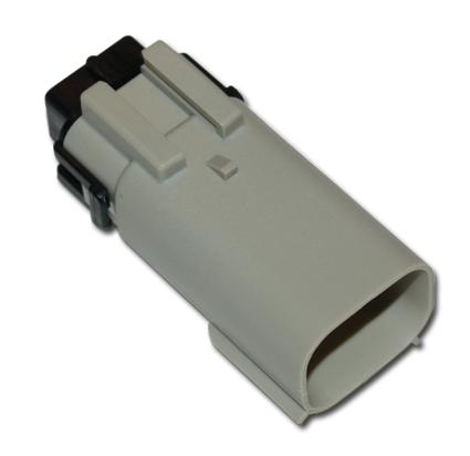 Namz Namz Molex Male Connector 8-Position, grey  - 66-4165