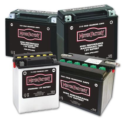 Motor Factory Motor Factory YTX20HL Battery  - 66-6105