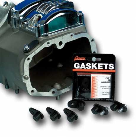 James Gaskets James Plug, Speedometer Drive Hole, Molded Rubber/Steel  - 66-7076