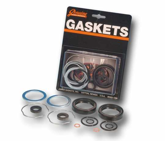 James Gaskets James Gaskets Oil Seal Kit, Front Fork  - 66-7105