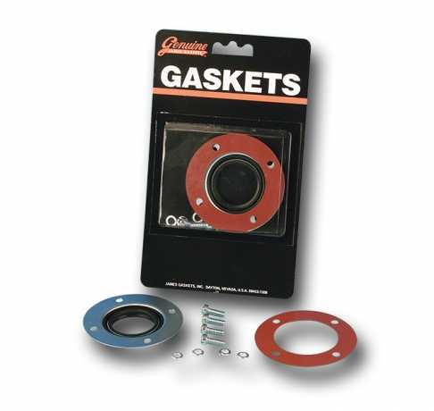 James Gaskets James Oil Seal Retainer Kit, Sprocket Shaft Transmission  - 66-7108