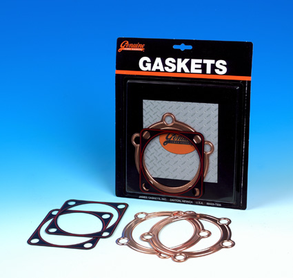 James Gaskets James Gasket Kit, Embossed Copper Head w/ RCM Base  - 66-7591