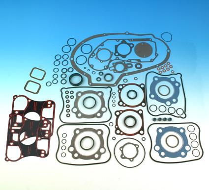 James Gaskets James Gasket Kit Motor with Metal Base & Rocker Cover Gaskets  - 66-7606
