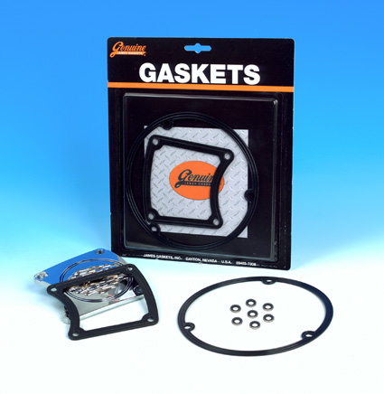 James Gaskets James Gasket Kit, Primary Inspection & Clutch Derby Cover  - 66-7618