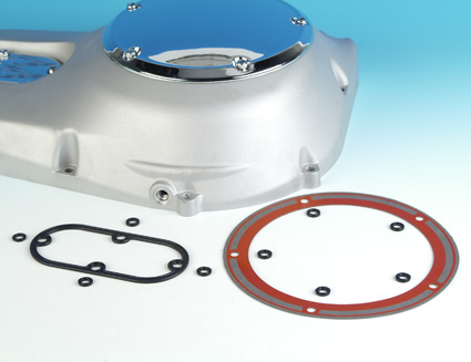 James Gaskets James Gasket Kit, Primary Inspection & Derby Cover  - 66-7619