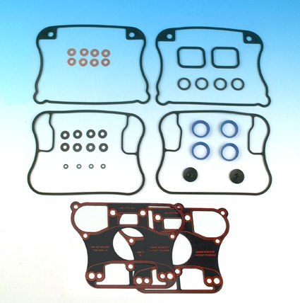 James Gaskets James Gasket Kit, Rocker Cover, with Paper Rocker Base Gaskets  - 66-7627