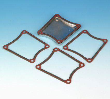 """James Gaskets James Gasket, Primary Inspection Cover, .062"""" Paper with Bead (5)  - 66-7779"""