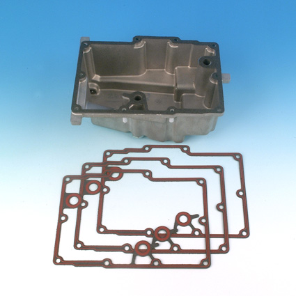 James Gaskets James Gasket, Transmission Oil Pan, Paper with Bead (5)  - 66-7840