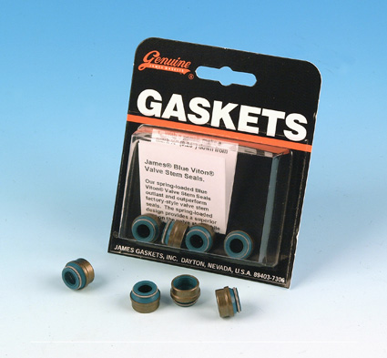 James Gaskets James Seal, Valve Stem (4)  - 66-7960
