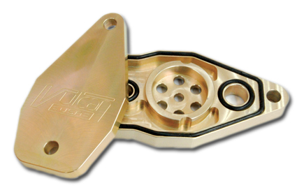 Vulcan Engineering Vulcan Billet PCV Valve Housing  - 66-8152