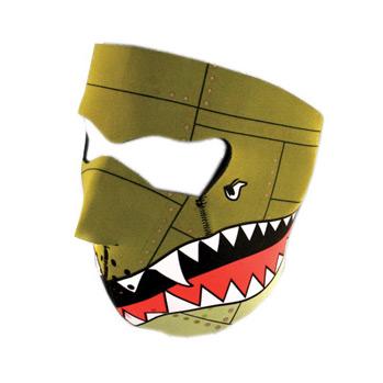 ZANheadgear ZANheadgear Neopren-Gesichtsmaske Bomber  - 67-3230