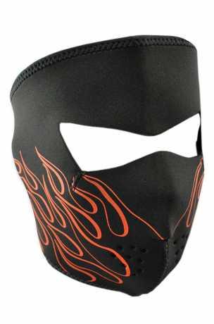 ZANheadgear ZANheadgear Neoprene Face Mask Orange Flames  - 67-5145