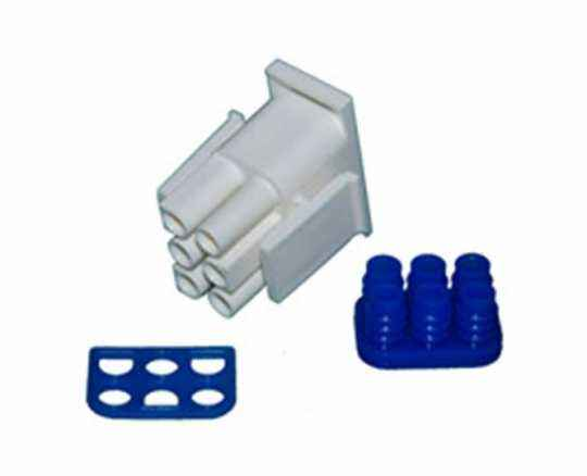Namz Namz 6 Wire Plug Housing  - 67-0089