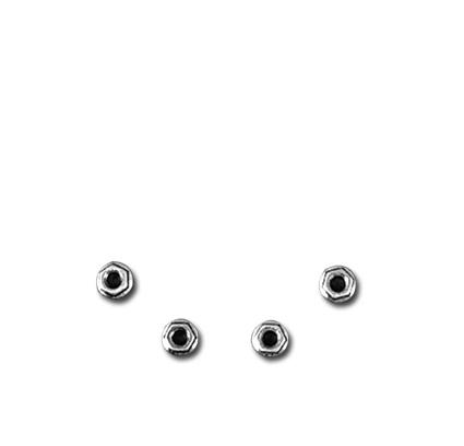 Custom Chrome Flanschmuttern für Krümmer (10)  - 67-164