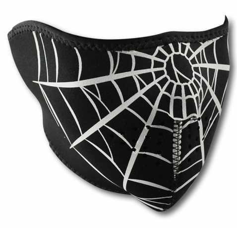 ZANheadgear ZANheadgear Neoprene Half Face Mask Spiderweb  - 67-5148
