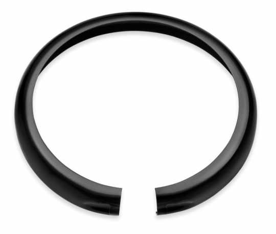 "Harley-Davidson Headlamp Trim Ring 5 3/4""  gloss black  - 67700116"