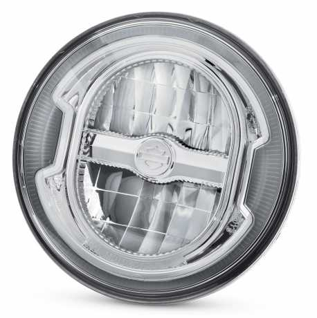 "Harley-Davidson Daymaker 5.75"" Signature Reflector LED Scheinwerfer chrom  - 67700355"