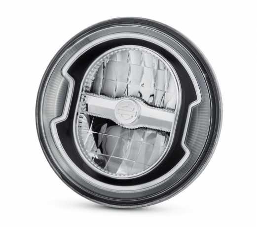 """Harley-Davidson Daymaker 5.75"""" Signature Reflector LED Scheinwerfer schwarz  - 67700356"""
