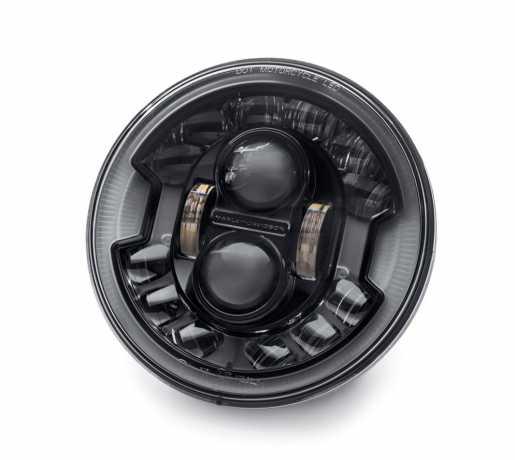"Harley-Davidson Daymaker 7"" Adaptive LED Scheinwerfer schwarz  - 67700427A"