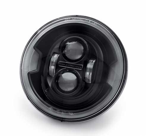"""Harley-Davidson Daymaker 7"""" Projector LED Headlamp black  - 67700430A"""