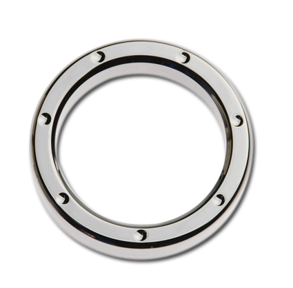 "Custom Chrome Instrumenten Zier-Ring 2"" Billet dimpled chrom  - 67-7700"