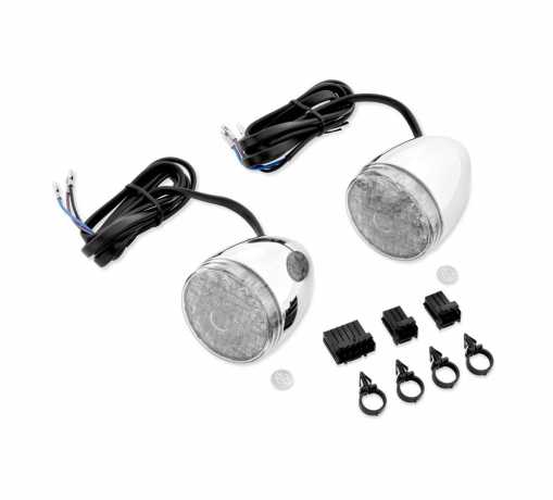 67800060 led bullet turn signal kit front