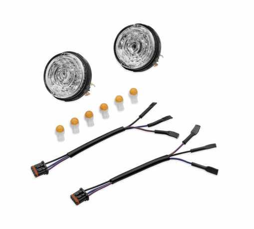 Harley-Davidson LED Bullet Turn Signal Insert Kit  - 67800639