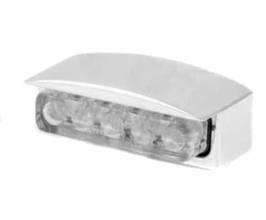 Shin Yo Shin Yo Mini LED Kennzeichenbeleuchtung silber  - 68-1350