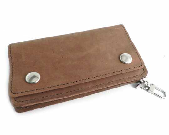 Amigaz Vintage Biker Wallet, brown