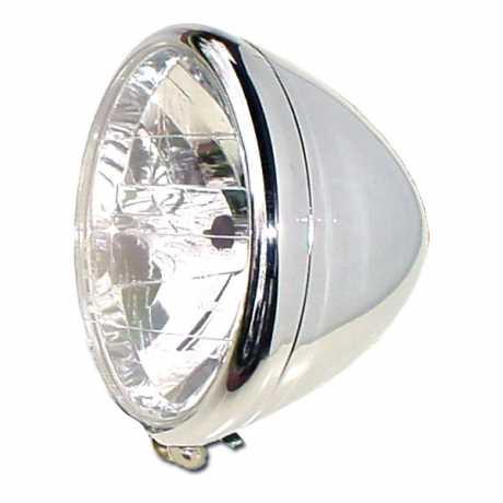 "MM Cycle MM Cycle Phantom Headlight 6.5"" chrome  - 68-7667"