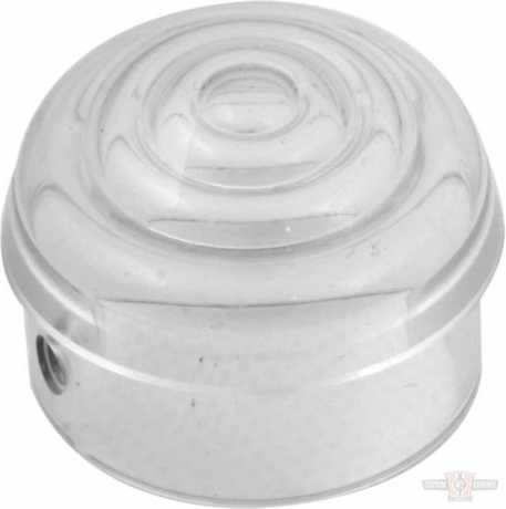 Custom Chrome Clear Bullet Light Replacment Lens  - 68-8127