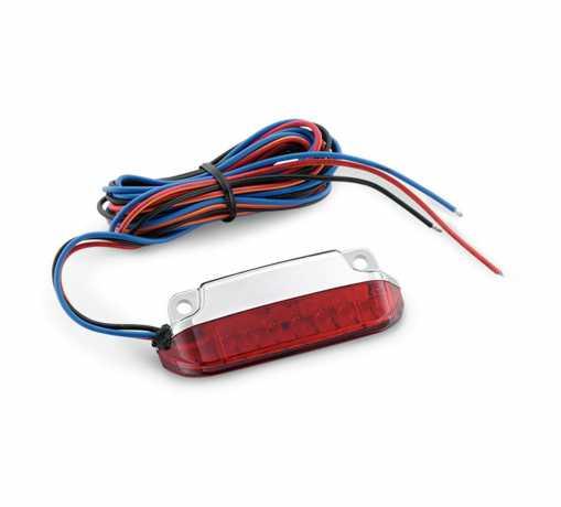 Harley-Davidson Luggage Rack LED Light Kit Red Lens  - 68000076