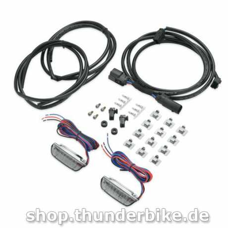 Harley-Davidson Air Wing Rail LED Light Kit, smoke  - 68000114