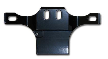 MW MW Billet Motorhalter schwarz  - 68-1423