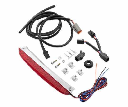 Harley-Davidson Air Wing Rack LED Light Kit, Red Lens  - 68250-08A