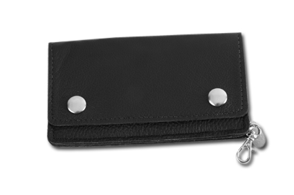 Amigaz Amigaz Biker Wallet fine leather black  - 68-2532
