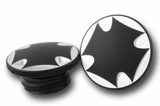 CPV Parts CPV Gas Cap Set Maltese Cross, black  - 68-3447