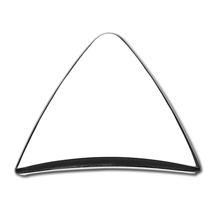 Cycle Visions Cycle Visions Pyramid Cover, chrome  - 68-4031