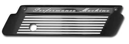 Performance Machine Performance Machine Latch Plate Fluted Set, chrome  - 68-4395