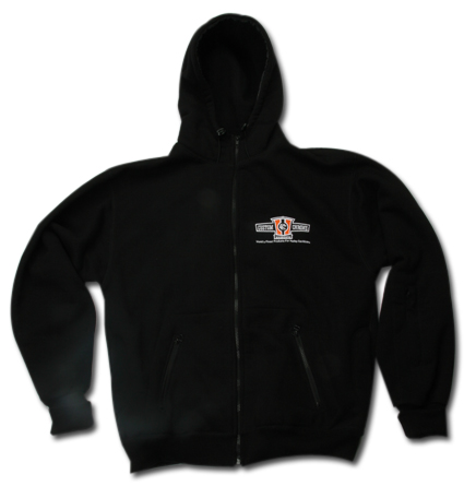 Custom Chrome Custom Chrome Europe Zip Hoodie black  - 68-5759V