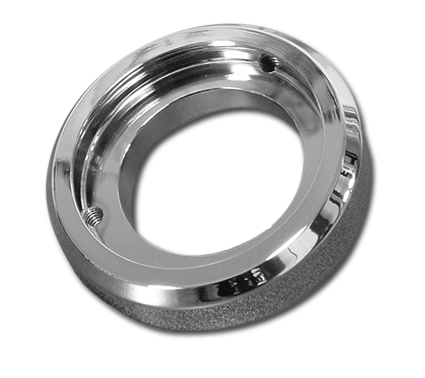 Pistor Pistor Adapter Flange Mikuni Hyper Force Chrome  - 68-6643