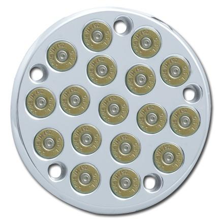 RBS 38 Bullet Point Cover Chrome  - 68-7564