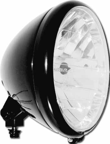 "MM Cycle Phantom Headlight 6.5"" black"