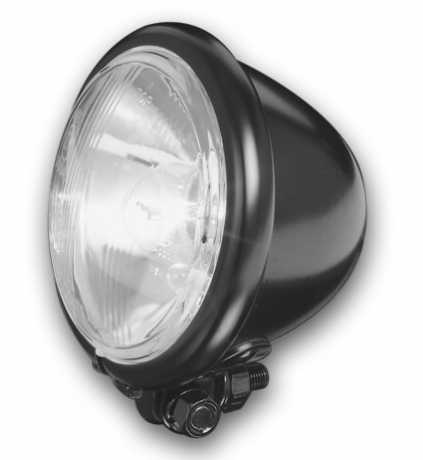 "Custom Chrome Bates Style Headlight 5.5"" black  - 68-8021"
