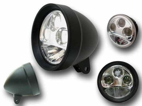 """LED Scheinwerfer 5.75"""" schwarz  - 68-8145"""
