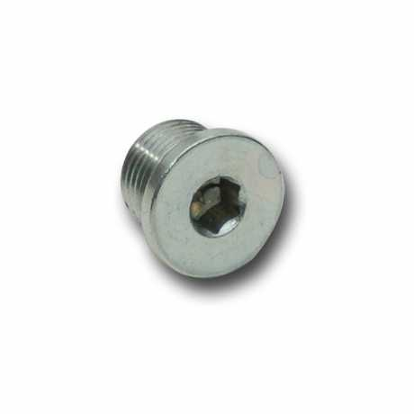 Custom Chrome Sensor bung plug 18x1.5mm  - 68-8189